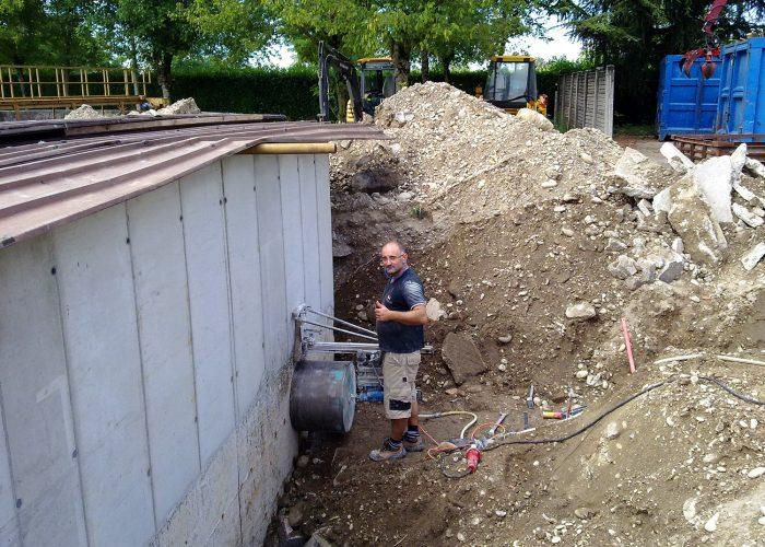 Fori di carotaggio FG Commerce & Demolition