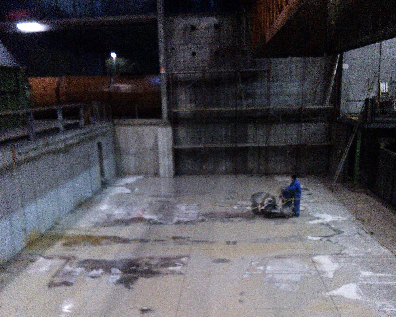 Taglio pavimenti FG Commerce & Demolition